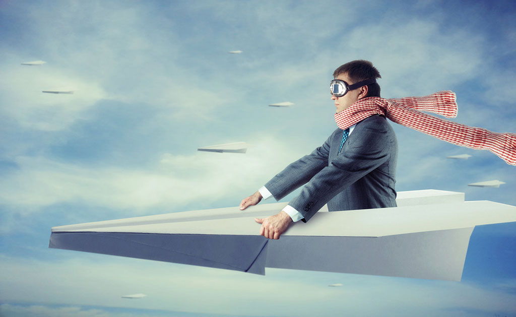 El que vuela es el avión, no yo