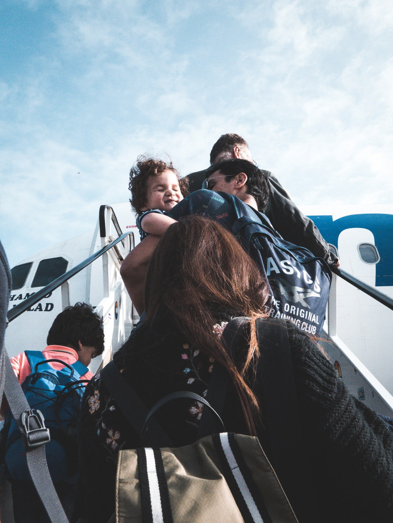 Niños a volar